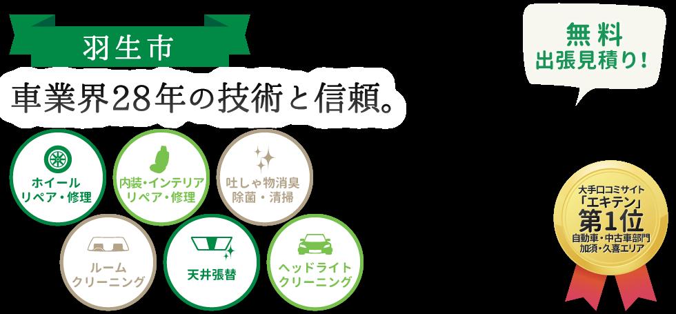 加須市・久喜市のホイール修理は【口コミNO.1】トータルリペアKへ 羽生メインイメージ