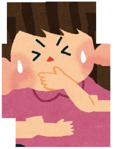嘔吐物の清掃