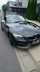 BMWポリッシュホイールガリ傷リペア