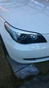 館林市BMW5シリーズヘッドライトクリーニング&リペア