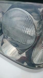 桶川市トヨタクラウンヘッドライトクリーニング&リペア