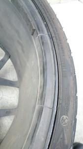 久喜市クライスラー・300Cアルミホイールクラック(割れ)リペア
