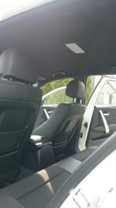 上尾市BMW1シリーズルーフライニング(天張り)張替