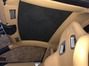 越谷市フェラーリ360モデナルーフライニング(天張り)張替