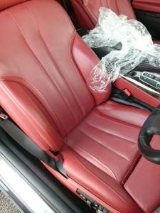 北本市BMW6シリーズカブリオレレザーシートリペア