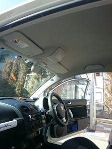 茨城県古河市フォルクスワーゲンニュービートルルーフライニング(天張り)張替