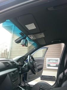 川口市BMW1シリーズルーフライニング(天張り)張替