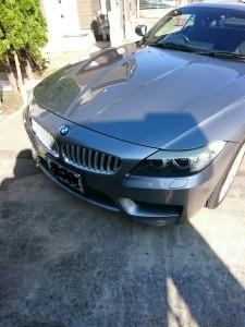 深谷市BMWZ4ヘッドライトリペア