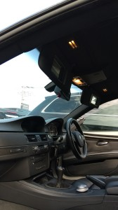 桶川市BMWM3ルーフライニング(天張り)張替