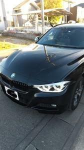 さいたま市浦和区BMWハイパーシルバーホイールガリ傷リペア
