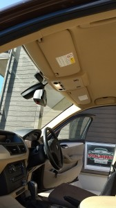 北本市BMXX1ルーフヘッドライニング張替